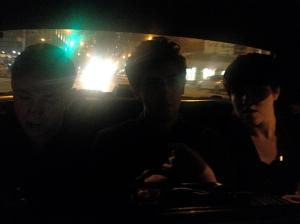 Oliver, Jamie e Romy