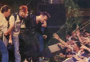 Primeiro concerto a solo da voz dos Smiths