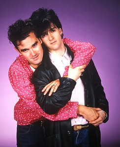 Morrissey com Johnny Marr