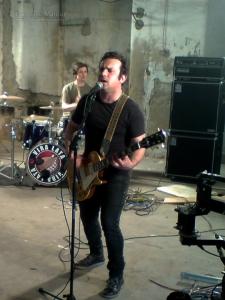 Ulisses Silva na gravação de um videoclip