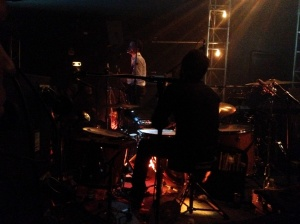 Fabian Tolosa brilhou na bateria