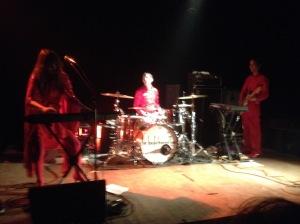Le Butcherettes ao vivo em Lyon
